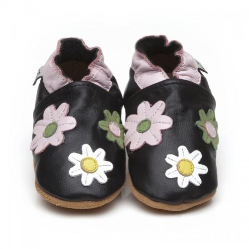 black-flower-shoes
