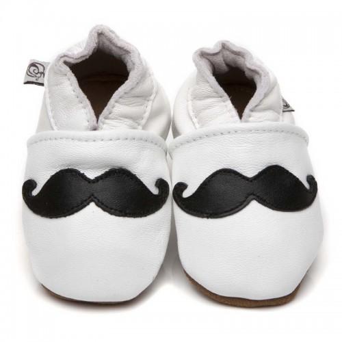 white-moustache-shoes